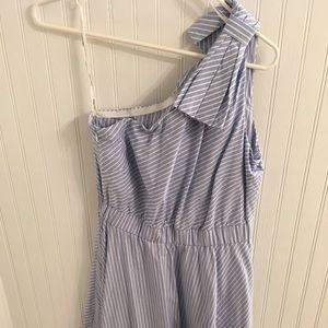 NWT Calvin Klein Light Blue Striped Dress, Size 4